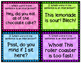 Interjections Task Cards (L.5.1.A)