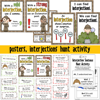The Case of the Interjections