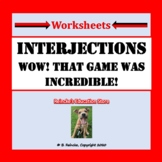 Interjections Worksheets