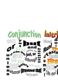 Interjections and Conjunctions Packet