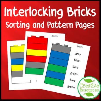 Interlocking Blocks Sorting and Patterning Pages