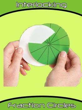 Interlocking Fraction Circles