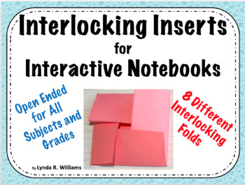 Interlocking Inserts for Interactive Notebooks