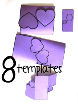 Interlocks! Interactive Notebook  Templates 8 pages(Classroom & Commercial)