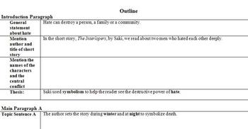 Interlopers Writing Unit with Parental Involvement Component