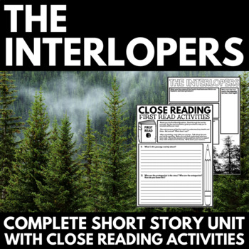 Interlopers by Saki Short Story Questions, Project, and Cl