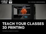 Intermediate 3D printing skills - learnbylayers