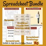 Spreadsheet Intermediate/Advanced Interactive Bundle 9th-1