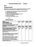 Intermediate-Advanced Summative Assessment - school and weekend activities