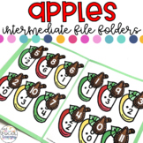 Intermediate Apples File Folder Activities for Special Education