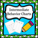 Behavior Charts - Intermediate Grades