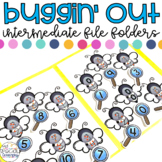 Intermediate Bugs File Folder for Special Education