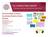 Intermediate Center/Learning Station Games