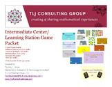 Intermediate Center/Learning Station Games