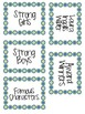 Intermediate Classroom Library Labels Set