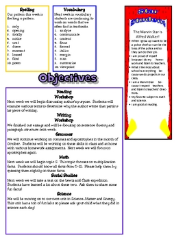 Intermediate Classroom Newsletter