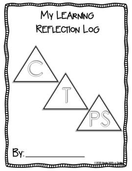 "Intermediate Core Competencies - ""I Can"" Self-Reflection Sheets"