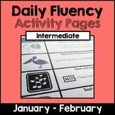 "Intermediate ""Daily Fluency"" Activity Pack (January - February)"
