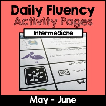 "Intermediate ""Daily Fluency"" Activity Pack (May - June)"