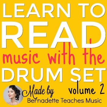 Intermediate Drum Set Visual Printable