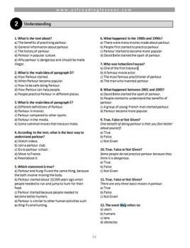 Intermediate ESL Reading Pack