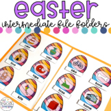 Intermediate Easter File Folders for Special Education