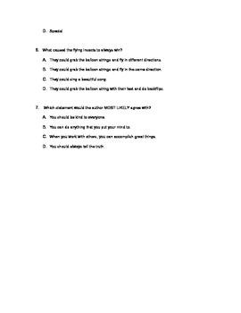 Intermediate FCAT/ Standardized test practice