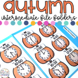 Intermediate Fall File Folder Activities for Special Education