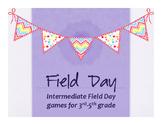 Intermediate Field Day Games