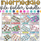 Intermediate File Folder Activities for the YEAR - Growing Bundle