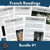 Intermediate French readings - bundle #1