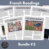Intermediate French readings - bundle #2