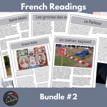 Intermediate French readings - bundle #2
