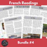 Intermediate French readings - bundle #4