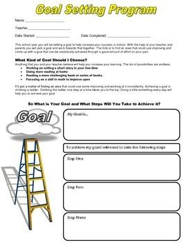 Intermediate Goal Setting Program