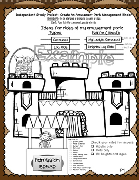 Intermediate Grade Math Independent Study Project -- Fractions and Decimals