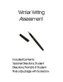 Intermediate Grade Winter Writing Assessment
