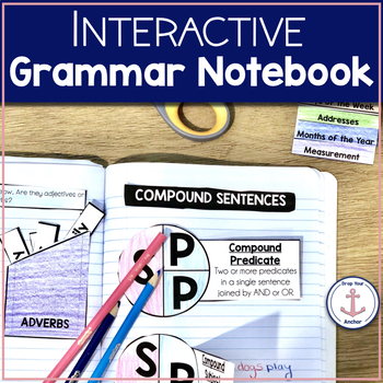 Interactive Grammar Notebook Intermediate (aligned w/ common core)