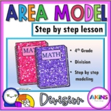 Intermediate Interactive Math Notebook Area Model Division