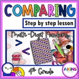 Intermediate Interactive Math Notebook Comparing Numbers
