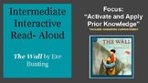 """Intermediate Interactive Read-Aloud """"The Wall,"""" by Eve Bunting"""