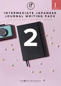 Intermediate Japanese Journal Writing Pack 2