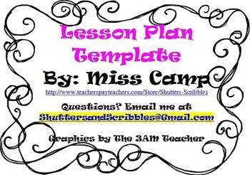 Intermediate Lesson Plan Template