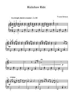 Rickshaw Ride - A Grade 3 Piano Study