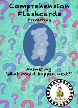 Intermediate Level Comprehension Flashcards - Predicting w