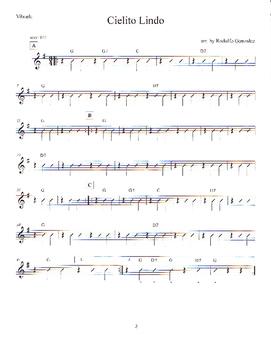 Intermediate Mariachi Vihuela/Guitar Resource Book