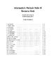 Intermediate Mariachi Violin 3 Resource Book