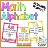 Intermediate Math Alphabet Posters [Eureka Math/Engage NY]