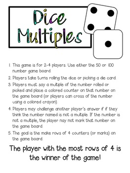 Intermediate Math Centers/Games Set - Math facts and skills for every classroom!