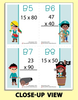 Multiplication War – Intermediate Level Math Game: Double-Digit by 10's